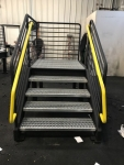 Steel Stairs with Anti-skid Coating